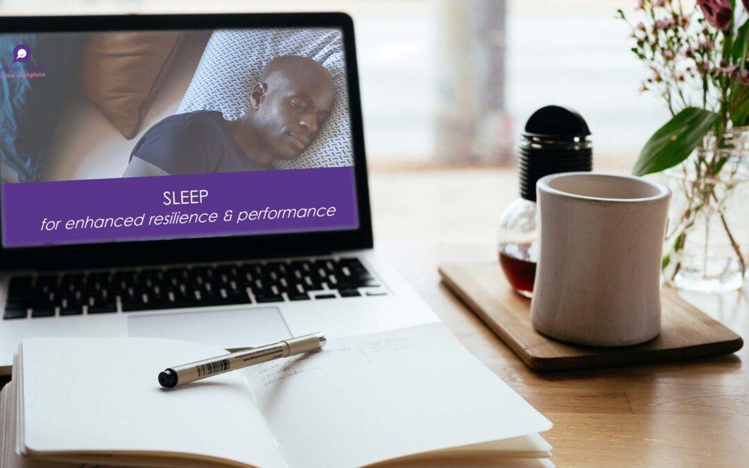 Sleep for Enhanced Resilience